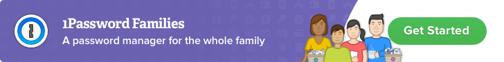 1Password Families — A password manager for the whole family