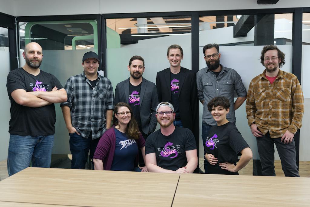 Battlesnake stream team for the Winter Classic 2019
