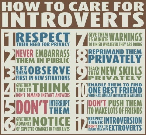 How to care for introverts